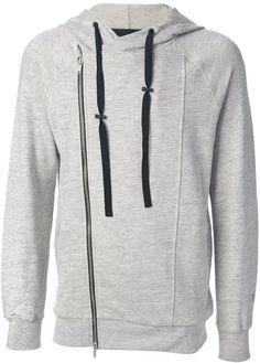 Alexander McQueen front zip sweatshirt on shopstyle.com