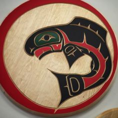 It's #FishFriday at the Ruby Creek Art Gallery!  Have a great weekend #NativeArt lovers!  #AboriginalBC