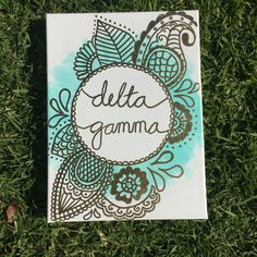 Delta Gamma Canvas