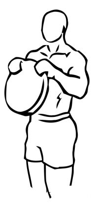 Reverse Plate Curls with Weight 2