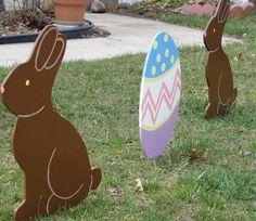 easter yard art