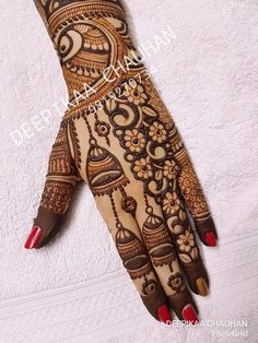 Rajasthani Mehndi Designs, Indian Henna Designs, Full Hand Mehndi Designs, Mehndi Designs Book, Mehndi Designs 2018, Mehndi Design Pictures, Modern Mehndi Designs, Wedding Mehndi Designs, Mehndi Designs For Fingers