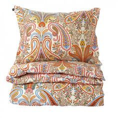 GANT Home Key West Paisley Påslakan Orange 150x210cm