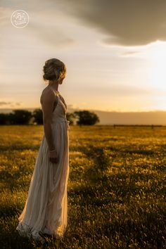 A beautiful sunset was the perfect light for this Bride photo at St Bathans. By Dan Childs at 222 Photographic Studios, Queenstown, New Zealand. #nzweddingphotography #queenstownwedding