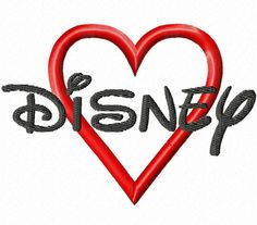 Disney Machine Embroidery Font Sizes 1234 BUY 2 by jmeleigh923, $5.50
