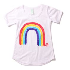 Minti love - gotta have it for summer! Get Mia to paint a rainbow on a T-shirt