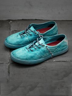 SOMEARETHIEVES - Raffles Low Shoes in Turquoise