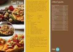 Sweet Potato Bruschetta -- -- >  http://vegetarianbody.com/wp-content/uploads/recipe-volume-1.pdf