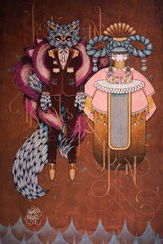 Supakitch & Koralie, two of my favorite artists!