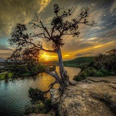 Chasing Sunsets, Austin, Texas