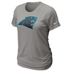 """Panthers T-Shirt - 2012 Nike """"Legend Logo"""" - Ladies - Grey - $30"""