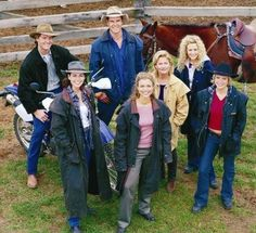 McLeod's Daughters...the original cast...love this show from Australia...strong/feminine women...