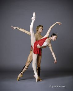 Anastasia Matvienko, First Soloist, and Denis Matvienko, Principal, Mariinski Theater; photo: Gene Schiavone