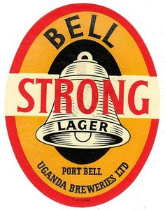 Bell Strong Lager Beer Label Uganda