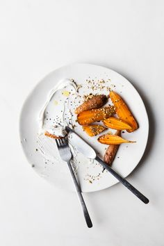 Burnt Carrots | Photography and Styling by Sanda Vuckovic
