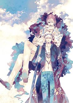 Corazon & Trafalgar Law | One Piece #anime