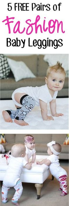 5 FREE Pairs of super cute Baby Leggings! {just pay s/h} - these leg warmers for babies make crawling easier on the knees. and are the CUTEST baby shower gifts! Not Your Baby, Baby Love, Cute Baby Shower Gifts, Baby Gifts, Free Baby Stuff, Cool Baby Stuff, Cute Kids, Cute Babies, Best Gifts For Girls