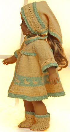 Baby Knitting Patterns Arm Knitting pattern for doll clothes Knitting Dolls Clothes, Ag Doll Clothes, Doll Clothes Patterns, Crochet Clothes, Clothing Patterns, Knitted Doll Patterns, Knitted Dolls, Baby Knitting Patterns, Crochet Doll Dress