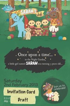"Photo 1 of 16: In The Night Garden / Birthday ""Sarah's In the Night Garden Birthday Party"" 