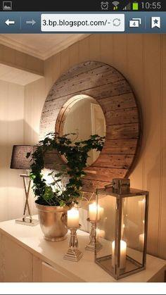 Kabeltrommel speil
