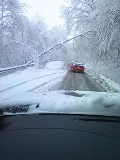 Another photo taken by a friend on 119 between Grafton and Morgantown.