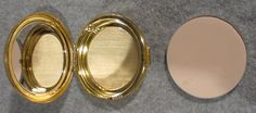 Estee Lauder SWIRL OF GOLD Powder Compact. $19.87, via Etsy.