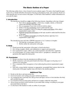 APA Format for College Papers | Research paper sample format ...