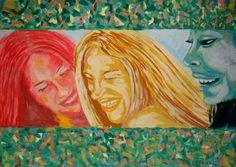 "Saatchi Art Artist Jacek lasa; Painting, ""models"" #art"