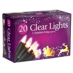 Christmas lights. Mains powered.#poundlandchristmas