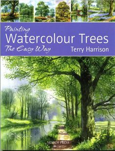 NEW Painting Watercolour Trees the easy way.