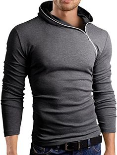 Grin&Bear Men's zipped Long Sleeve Hoodie, charcoal, S, BH135 Grin&Bear http://smile.amazon.com/dp/B00PYAWKH2/ref=cm_sw_r_pi_dp_zj-Yub1SJGYNC