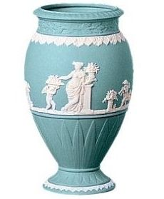 Wedgwood Jasperware Bountiful Vase