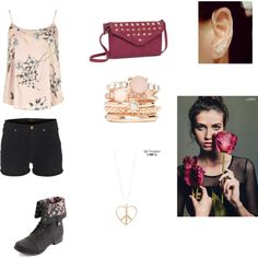 Hipster by bluejess on Polyvore featuring moda, Dorothy Perkins, J Brand, Charlotte Russe, LP Blue, 2b bebe, Aéropostale, peace and Flowers