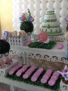decoração de festa tema jardim - Pesquisa Google