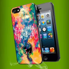 Lion Hakuna Matata Watercolor Print for #iphone5s #phonecover