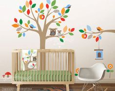 Bringing bare walls to life, our decals add the final touch to your little one's nursery. Create a nature scene with our Treetop Friends or adorn baby's room with help from the Alphabet Zoo. These decals are easy to apply and can be rearranged as often as you like. #SkipHop #CamelotKids #Decals #KidsMarket