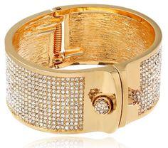 "KARA by Kara Ross ""Small Shirt"" Gold-Plated and Crystal Cuff Bracelet Kara Ross http://www.amazon.com/dp/B00DITU66I/ref=cm_sw_r_pi_dp_VLtVtb0VMAQ9SXJZ"
