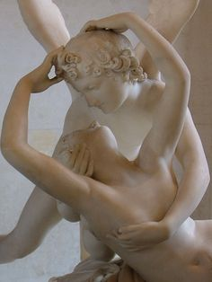 Eros and Psyche-  hero and heroine rescue each other