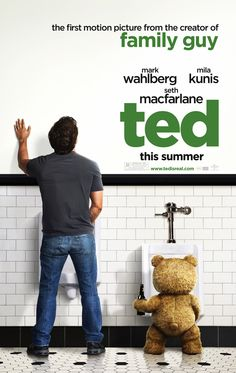 2013 Ted.John Bennett is a grown man who must deal with the cherished teddy bear who came to life as the result of a childhood wish...and has refused to leave his side ever since. A nice comedy that is enjoyable with Ted not being your average cute cuddly Teddy bear.