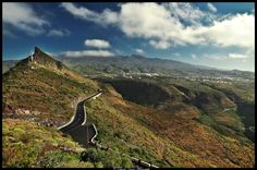Mirador de la Centinela situado en el Valle San Lorenzo, sur de la Isla de Tenerife. Islas Canarias, España. Eduardo Garcia Photography