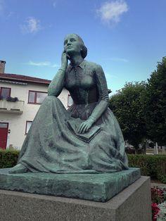 Statue of Camilla Collett - Kristiansand