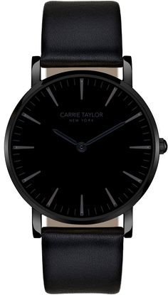 Carrie Taylor Lexington Gunmetal/Black Black Leather