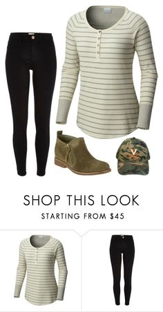 """Friday"" by mountain-girl-lynn ❤ liked on Polyvore featuring Columbia, River Island and Hush Puppies"