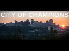 """We are a city of champions. We are Edmonton. Edmonton is the capital city of Alberta, Canada – better known as the """"city of champions"""". Alberta Canada, Capital City, Champion, Explore, Youtube, Youtubers, Youtube Movies, Exploring"""
