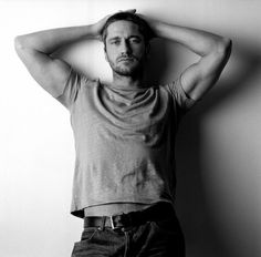 He's pretty. His accent makes him even better. Gerard Butler