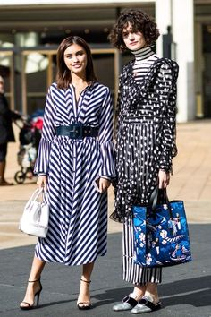 i love the blue bag - Street style from New York Fashion Week autumn/winter '18/'19