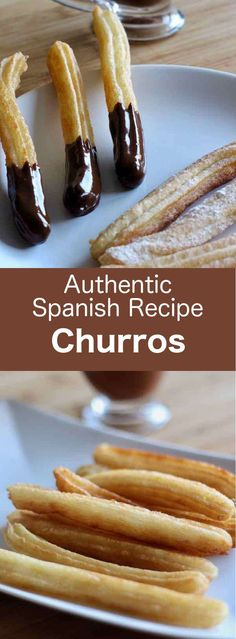 The origin of Spanish churros is very controversial. Find out the story and authentic recipe of chocolate con churros. #dessert #Spain #196flavors