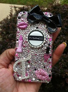 "Bling Cell Phone Case ""MAC"""