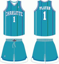 13dbd4e80 Charlotte Hornets Road Logo on Chris Creamer s Sports Logos Page -  SportsLogos. A virtual museum of sports logos