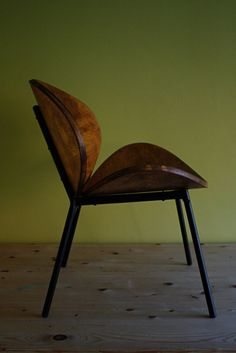 COOL VINTAGE RETRO PIERRE PAULIN STYLE MID CENTURY DESIGNER BENT PLYWOOD CHAIR on Gumtree. Lovely piece of simple but elegant design combining two pieces of bowed ply. No maker's name but